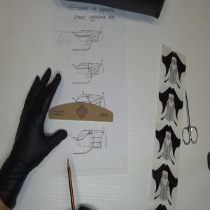 (10.2019) Правилно поставяне на форми за изграждане, според напречния и надлъжния овал на нокътя